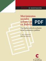 Arteaga y Esposito 2006.Movimientos Sociales Urbano Populares en Bolivia