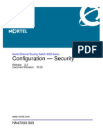 NN47205 505 05.03 Configuration Security