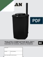 Toaleta Compost Ro