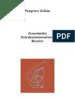 Pongrácz Zoltán - Zeneelmélet