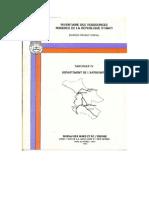 Inventaire Des Ressources Minières de la République D'Haïti (Artibonite)
