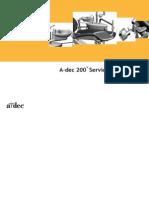 A-Dec 200 Detal Chair - Service Guide