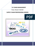 Supply Chain Professional Bodies