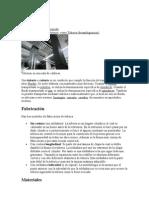 Tuberías, Fabricacion, Materiales