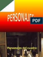 Personajes del libro EL MISTERIO VELÁZQUEZ.pptx