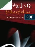 11ª Feira do Livro - Folhas Soltas - Vouzela - Flyer