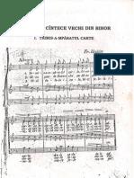 Suita de Cante Vechi Din Bihor