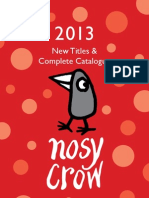 Nosy Crow Catalogue 2013
