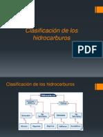 CLASIFICACIÓN DE HIDROCARBUROS