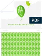 Pushkin Childrens Catalogue