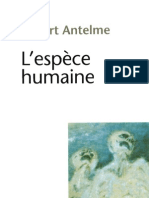 1957. Antelme, Robert - L'espèce humaine