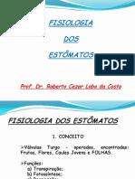 2 Fisiologia Dos Estomatos 2011 Unidade 1 Parte 2