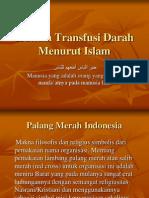 Hukum Transfusi Darah Menurut Islam
