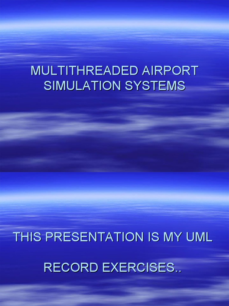 Multithreaded airport simulation systems air traffic control multithreaded airport simulation systems air traffic control decision making ccuart Choice Image