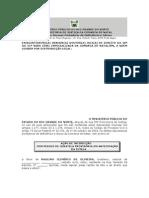 Mprn - Acao de Interdicao e Curatela Provisoria de Idoso