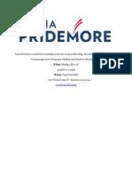Pridemore congressional announcement