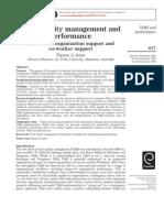 TQM & Performance