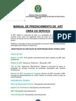 Obra Servico Manual de Art