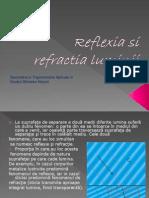 Reflexia Si Refractia Luminii1