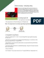 Hack Windows toàn tập – Cách phòng chống