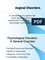 psychological disorders ppt 2