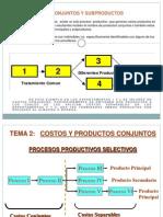 Costos Conjuntos y Subproducto