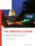 The Gridlock Illusion - WQ Magazine