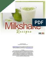 Paleo Milkshake Recipes