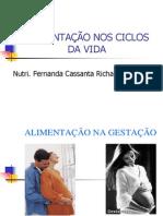 ALIMENTAÇÃO NOS CICLOS DA VIDA (1)