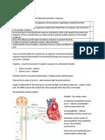 Biology unit 5 (BIOL5) autonomic system