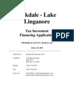 Oakdale TIF Application 4.25.13 - Final