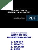 01 0 Intro Occu Safety