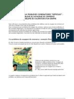 Le Probeme de Voyageur de Commerce Et La Coloration Des Sommets d'Un Graphe