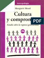 Cultura y Compromiso Margareth Mead