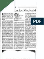 Bennett Katz - Prescription for Medicaid, KJ 1996