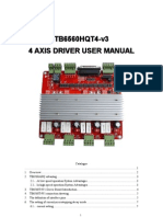 4 Axis driver user manual