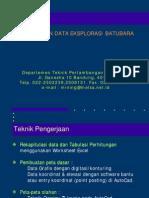 Explorasi - Pengolahan Data