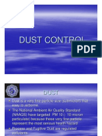 Quality - Dust Control