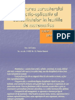 Asigurarea Caracterului Practic-aplicativ Al Cunostintelor in Lectiile