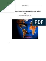 Teacher's Guide for the Bangladeshi English Language Teachers