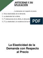 Elasticidad de La Demenda y Oferta