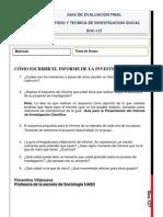 Guía Evaluación Final (SOC-127)