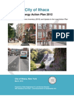 City of Ithaca, New York Energy Action Plan final draft prepared by Taitem Engineering and Dennise Belmaker, March 2012