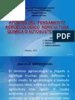Aportes Del Penasamiento Agroecologico
