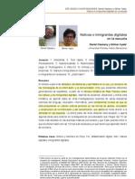 Nativos e Inmigrantes Digitales Cassany y Ayala