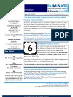 KI Eliminate USA 2 Newsletter 5-10-13