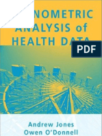 Econometric Analysis of Health Data
