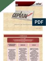 2011-06 CEPLAN-Informe de Transferencia 2011