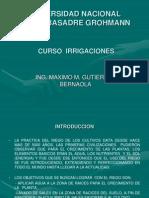 Curso Irrigaciones - Factores Que Influyen Riego - III