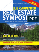 31st Annual Willis Carpenter Real Estate Symposium